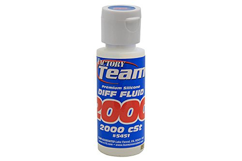 (Team Associated 5451 Factory Team Silicone Differential Fluid, 2000CST)