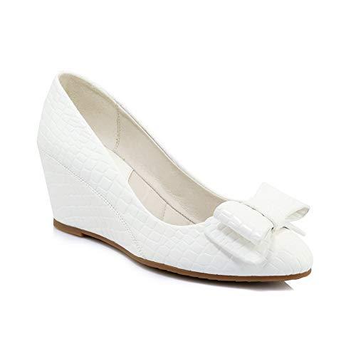 An Zeppa White Con Sandali Dgu00742 Donna qrqgvB