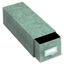 Index Card Drawer File, 1300 Cap., 14-1/2'' Deep, 6''x9'', GN, Sold as 1 Each by Globe Weis