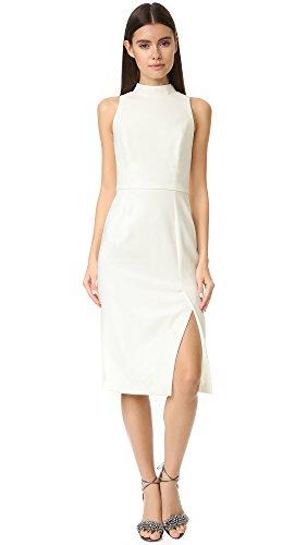 Buy black halo black and white dress - 9