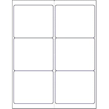 amazon com blank white permanent adhesive labels for laser ink jet