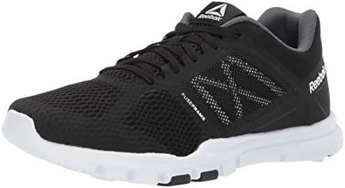 Reebok Rubber Realflex Train 4.0 Running Shoe in Gray for