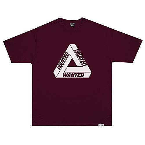 Camiseta Wanted - Escher Vermelho Cor:Vermelho;Tamanho:XG