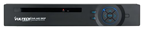 Vultech CM-960AHD8 - DVR Video Recorder Ibrido Analogico - AHD 8 Canali 960P, Nero Vultech Security