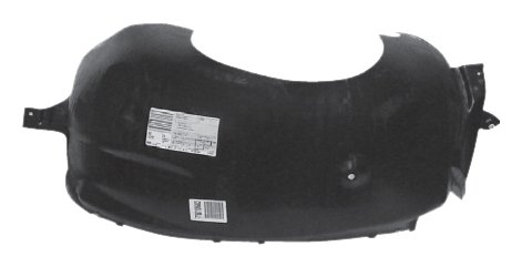OE Replacement Ford Expedition Front Passenger Side Fender Inner Panel (Partslink Number FO1249120)