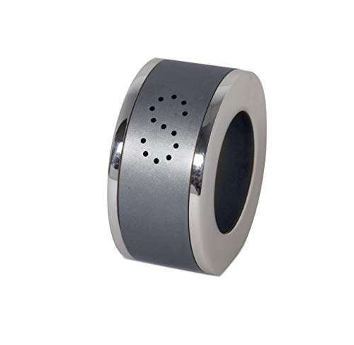 Anodized Aluminum Napkin ring Holder Salt & Pepper shaker Shiny Rings Double Purpose Tableware gift, Custom Colors rings Dimensions: 1