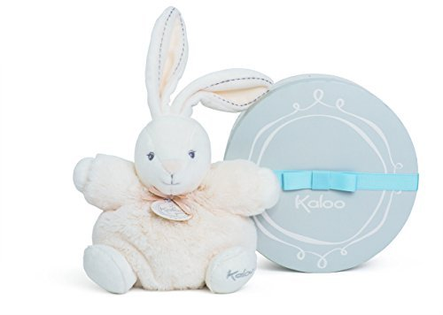 Kaloo Perle Plush Toys, Cream Chubby Rabbit, Small by Kaloo