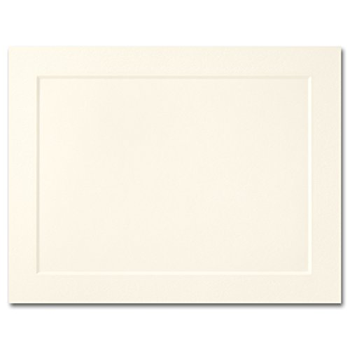 Fine Impressions A2 Fold-Over Panel Cards, 4.25