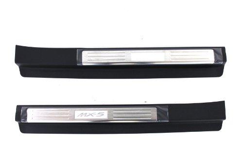 Genuine Mazda Accessories NE51-V1-370F Door Sill Trim Plate Sill Plate Emblem
