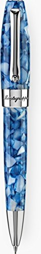 Montegrappa Fortuna Marrakech Mosaico (Steel & Blue) Mechanical Pencil by Montegrappa