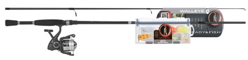 Cheap Ready 2 Fish Walleye Spin Combo with Kit