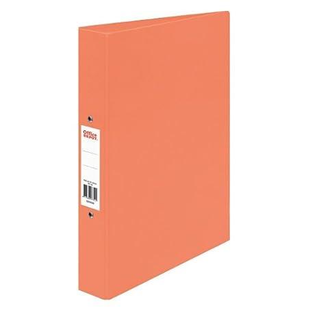 2 anillo A4 polipropileno archivadores, varios colores - Pack de 10, color naranja: Amazon.es: Oficina y papelería