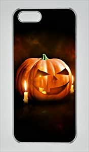 Iphone 5 5s PC Hard Shell Case Happy Halloween 2 Transparent Skin by Sallylotus by ruishername