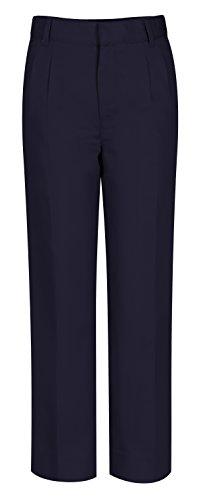 Classroom Uniforms CLASSROOM Big Boys' Adjustable Waist Pleat Front Pant, Dark Navy, 16 ()