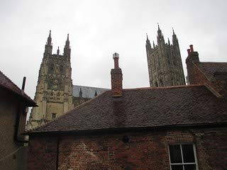 HistoricalFindings Photo: Canterbury Cathedral from The Gate Hotel (Canterbury Cathedral Gate)