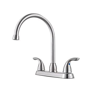 Pfister G136500s Series 2 Handle Kitchen Faucet With Side Spray