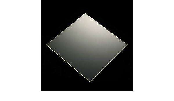 Amazon.com: 170mm x 170mm x 3mm Borosilicate Glass Build ...