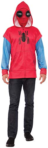 Rubie's Spider-Man: Homecoming Adult Homemade Suit Costume Hoodie, X-Large ()