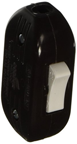 Cooper Wiring Cord Switch - Brown - Carded BP933B