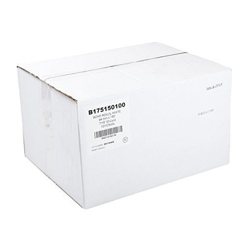 AmerCare 44mm x 150' White Bond Register Rolls with 7/16'' ID Core, 1 Ply, Case of 100 by Amercare (Image #4)