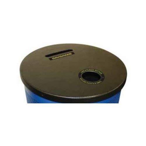 Series Stadium Perforated - OKSLO Stadium series perforated receptacle top