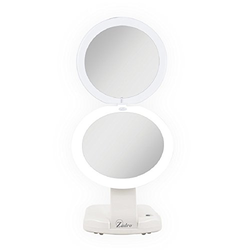 Zadro LED Lighted Ultimate Make-Up Mirror 1x/10x