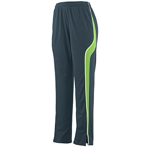 Augusta Sportswear Women's Rival Pant M Slate/Lime/White