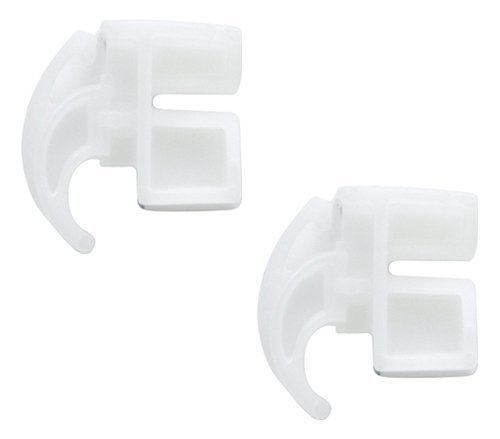(2 PACK) 3051163 Rear Drawer Glide Compatible with Frigidaire Range/Oven