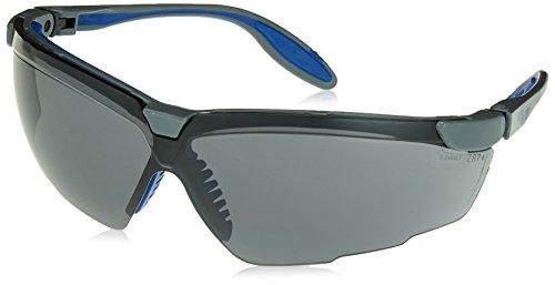 - Uvex S3512X Genesis X2 Safety Eyewear, Silver and Navy Frame, Gray UV Extreme Anti-Fog Lens