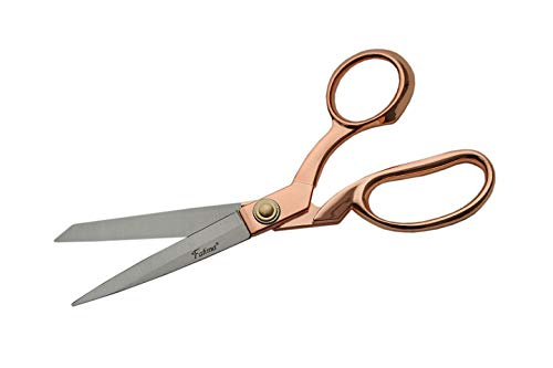 - SZCO Supplies Fatima Tailor Scissors with Rose Gold Finish, 8.5