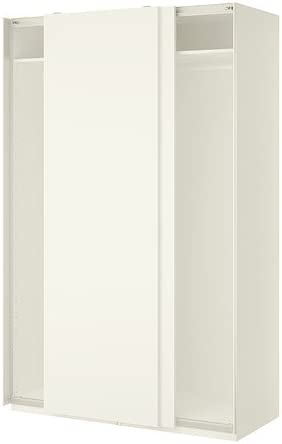 Ikea Armadio Ante Scorrevoli 150 Cm.Ikea Armadio Bianco Hasvik Bianco 18382 81723 214 Amazon It