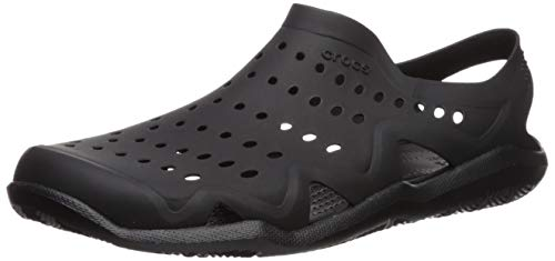 Crocs Men's Swiftwater Wave M Water Shoe Black, 5 M US by Crocs (Image #1)