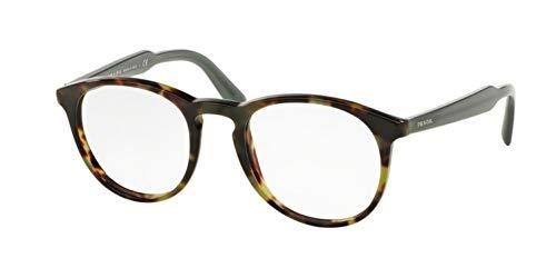 Prada Men's PR 19SV Eyeglasses Top Black / Matte Tortoise 50mm -