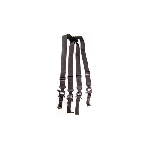 HSG HSGI: High Speed Low Drag Suspenders - Black