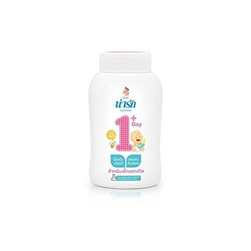 NARAK Baby Powder 1Day+ for New Born Baby (50g) (Acrylic Designer Tape Dispenser)