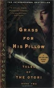 grass his pillow