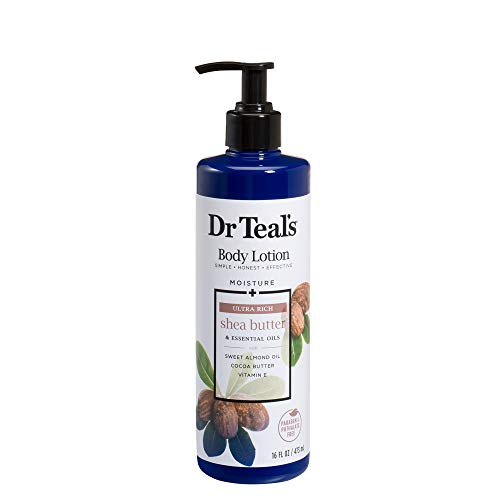 (Dr Teal's Body Lotion - Ultra Rich Shea Butter - 16 oz)