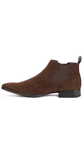 Shoes Perm à Homme Marron Bottines Pointu Reservoir Bout dqvYfT7