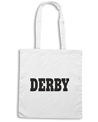 T-Shirtshock - Bolsa para la compra WC0717 DERBY Blanco