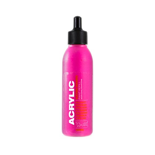 Montana Acrylic Marker Ink Refills, 25ml Bottle, Gleaming Pink (053206) ()