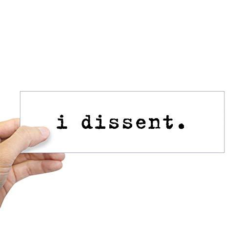 - CafePress I Dissent 10