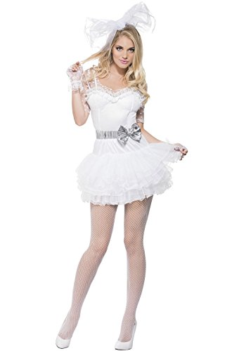 [Mememall Fashion Fever 80s Chick Adult Costume] (80s Chick Costume)
