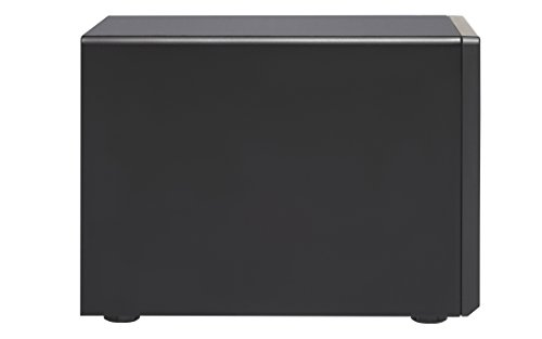 """QNAP 8 Bay Thunderbolt 2 Das/NAS/iSCSI IP-San Solution, Intel Core i5 3.6GHz Quad Core (TVS-882T-i5-16G-US) 4 Intel Core i5-6500 3.6 GHz, 16GB RAM (max. 32GB), 6x 3.5"""" HDD, 2x 2.5"""" HDD/SSD, 2x M.2 SSD slots, 4-lan, 2x 10gbase-t, 2x Thunderbolt port, iscsi, PCIe expansion slot x3 Built-in M.2 SATA 6GB/s slots & 2.5"""" SSD slots ; qtier technology and SSD cache enable 24/7 optimized storage efficiency TRIPLE HDMI output (including one HDMI 2.0) for smooth 4K video playback"""