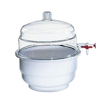 Bel-Art Products 420250000 Bel-Art 42025 Plastic Vacuum Desiccator, 230 mm Plate Size