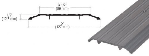 CRL Bronze Saddle Threshold 5'' Wide 1/2'' High - 36-1/2 in long
