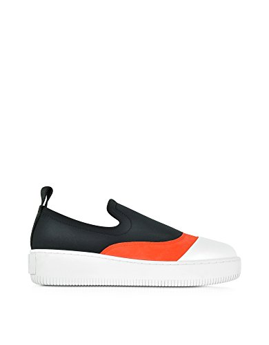 MCQ by Alexander McQueen Women's 405798R23181005 Multicolor Leather Slip On Sneakers