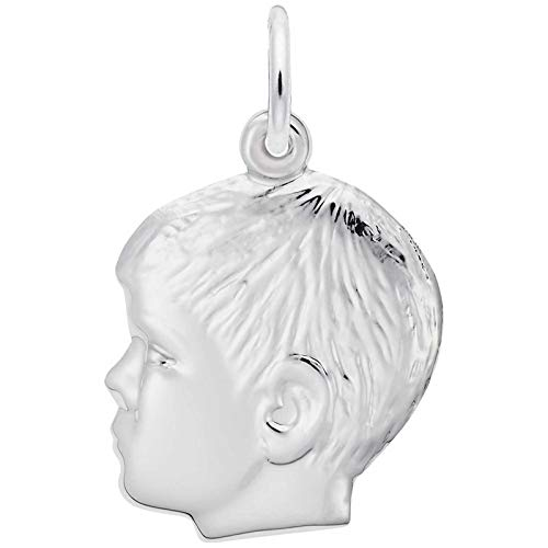 - Rembrandt Charms Boy Charm, Sterling Silver