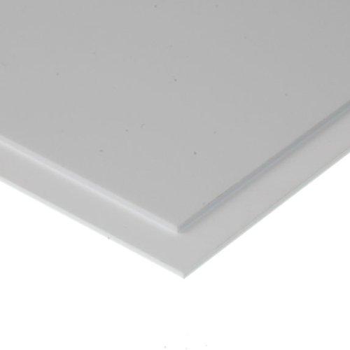 Evergreen 9030 Wei/ße Polystyrolplatte 2 St/ück 150x300x0,75 mm