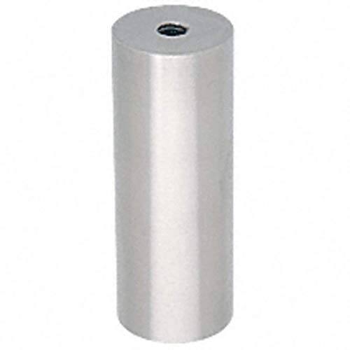 (CRL Brushed Stainless Clad Aluminum Standoff Base 1-1/2; Diameter ACSB1126BS)