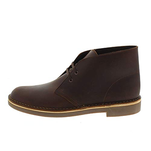 Leather Brown Clarks Clarks Bushacre2 Bushacre2 139052 Clarks Brown 139052 Leather 18nx8wz